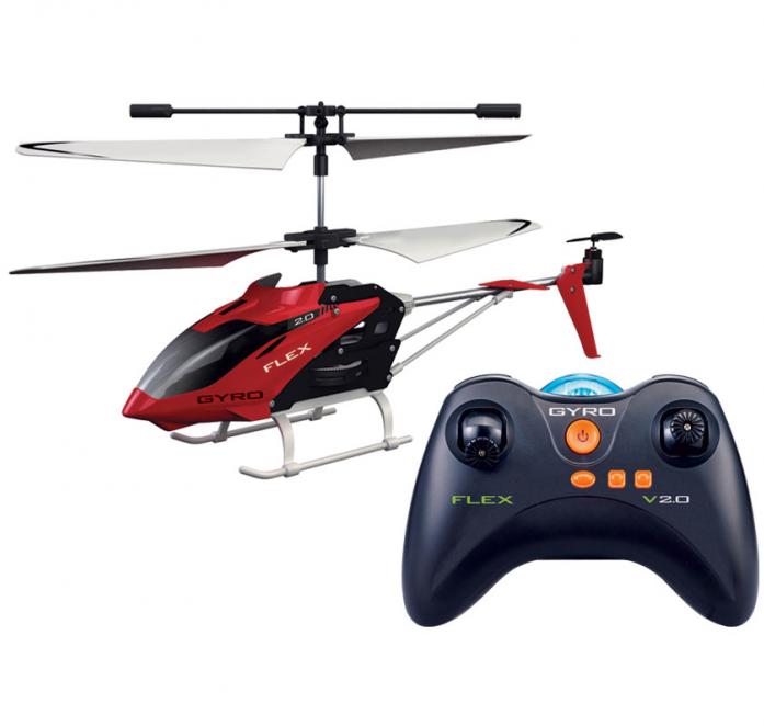 Вертолет на ИК-управлении 1toy Gyro-Flex 3 канала 18,5см Т57269
