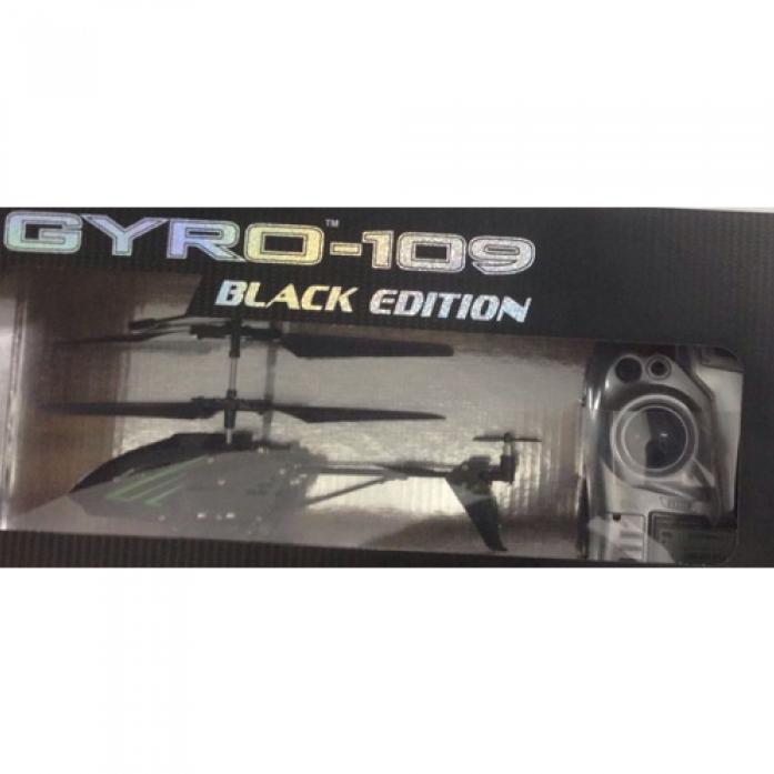 Вертолет на ИК-управлении 1toy Gyro-109 Black Edition Т58768