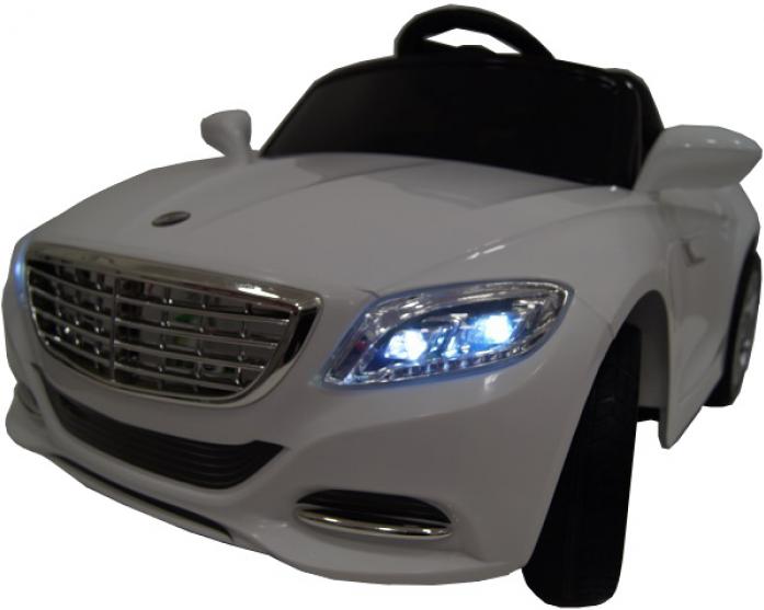 Детский электромобиль Rivertoys Т007 ТТ белый