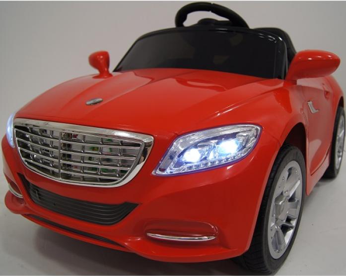 Детский электромобиль Rivertoys Т007 ТТ красный