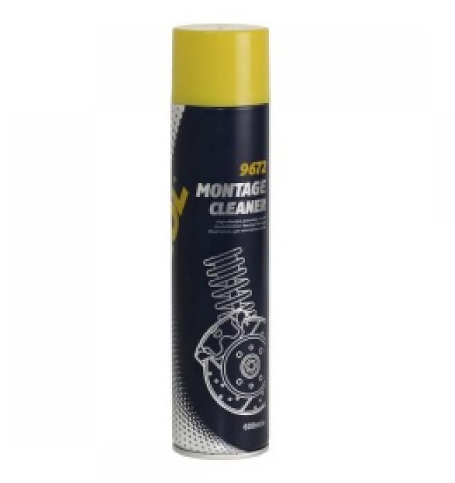 Очиститель для монтажных работ Mannol (SCT) 9672 Montage Cleaner 600 мл 2418
