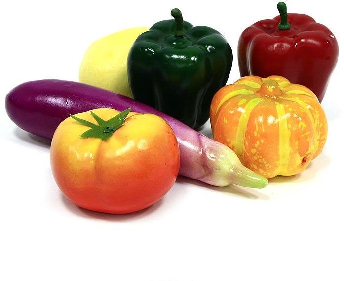 Игровой набор Тилибом Овощи 6 предметов Т80313