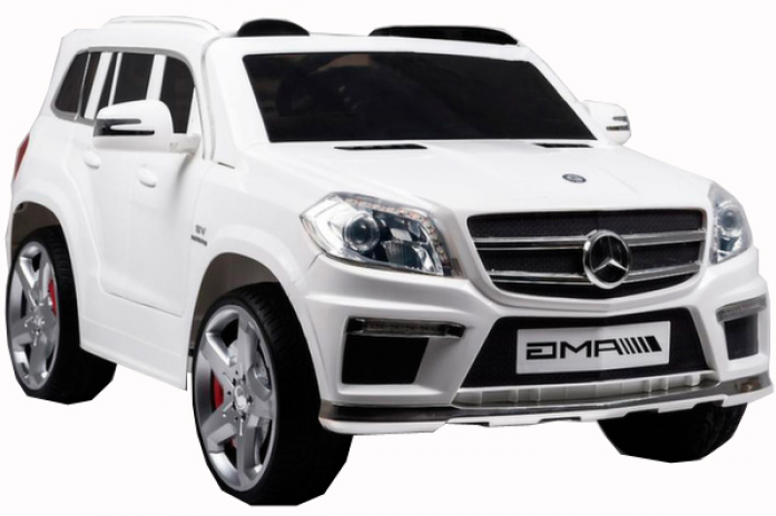 Детский электромобиль Rivertoys Mercedes-Benz GL-63 C999CP-WHITE-LEATHER