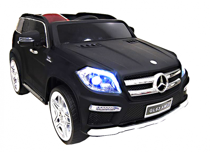 Детский электромобиль Rivertoys Mercedes-Benz GL 63 C999CP-BLACK-MATT