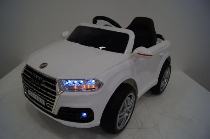 Детский электромобиль Rivertoys Audi O009OO-VIP-WHITE белый