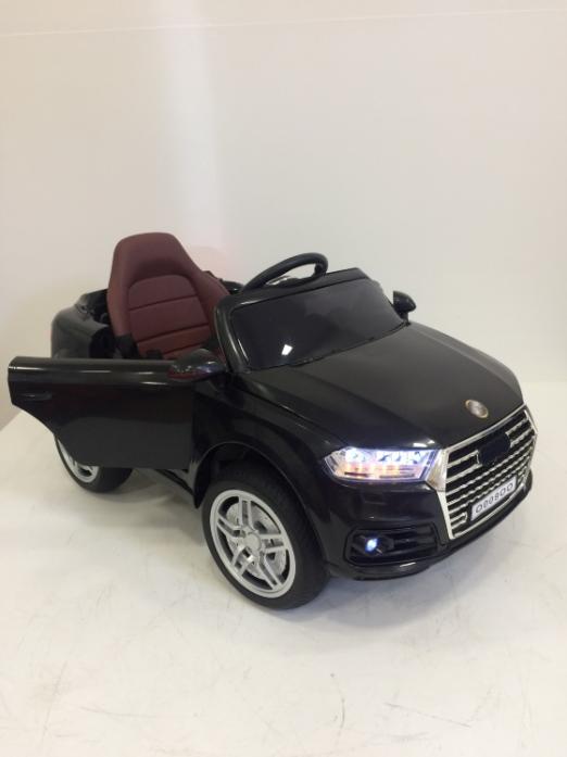 Детский электромобиль Rivertoys Audi O009OO-VIP-BLACK черный