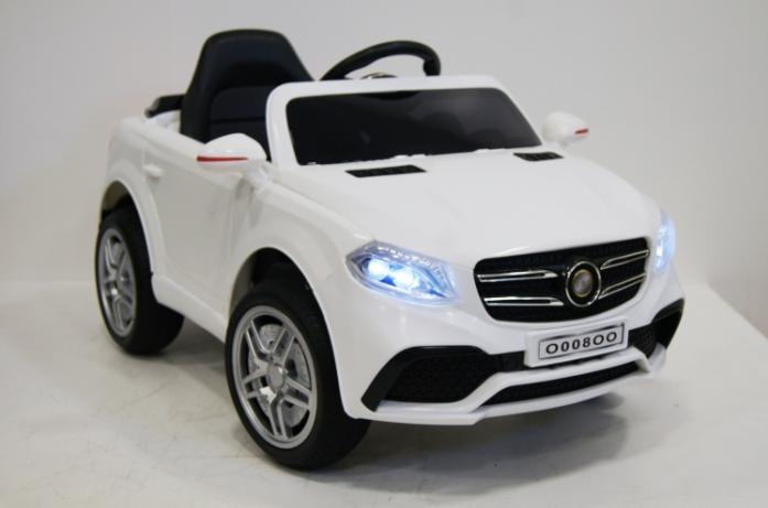 Детский электромобиль Rivertoys Mercedes O008OO-VIP-WHITE белый
