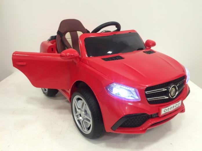 Детский электромобиль Rivertoys Mercedes O008OO-VIP-RED красный