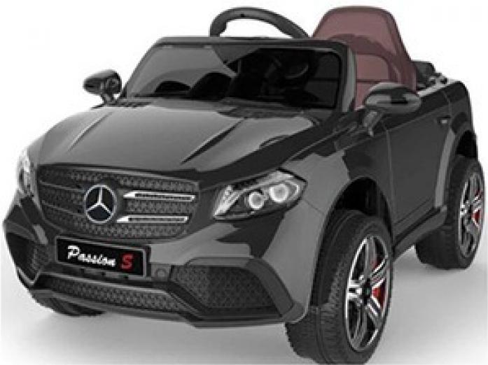 Детский электромобиль Rivertoys Mercedes O008OO-VIP-BLACK черный