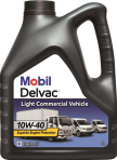 Масло моторное Mobil Delvac Light Commercial Vehicle 10w40 4л 153745