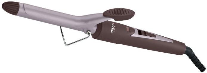 Щипцы для завивки волос DELTA LUX DL-0630 коричневый