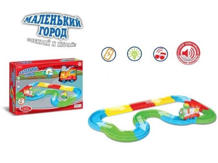 Железная дорога Zhorya Маленький город - Поезд 17 деталей Х75747