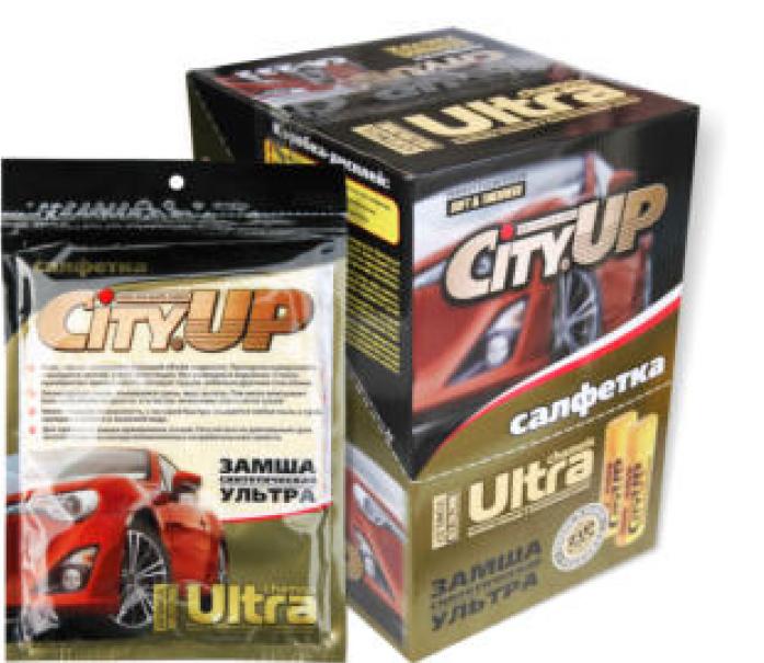 Салфетка ПВА City Up СА-231 64*43 zip lock