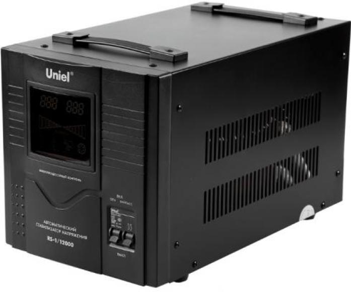 Стабилизатор напряжения Uniel 12000ВА RS-1/12000 03115