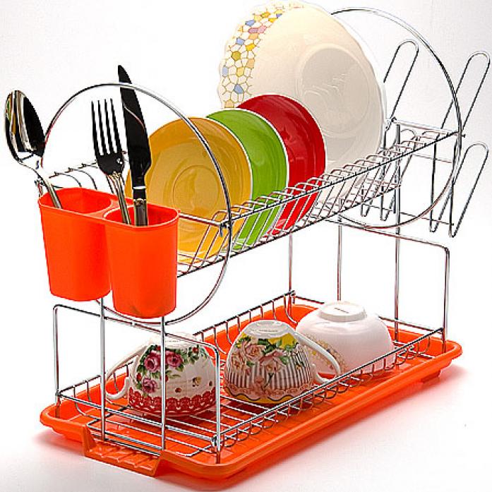 Ашан сушка для посуды