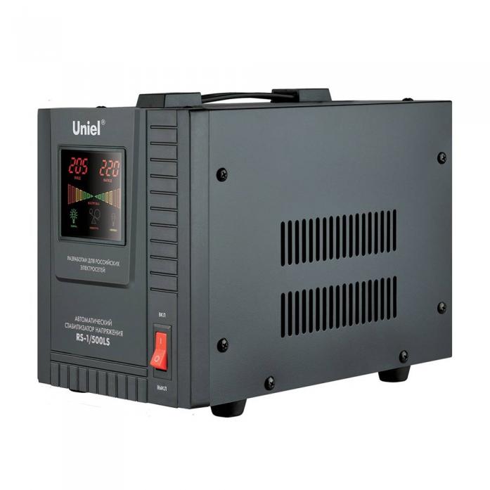 Стабилизатор напряжения Uniel 1500ВА RS-1/1500LS 09498