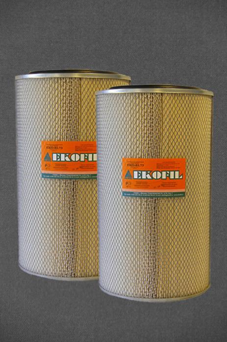 Фильтр воздушный EKO 01.73 СуперМаз Тутаев Евро-3