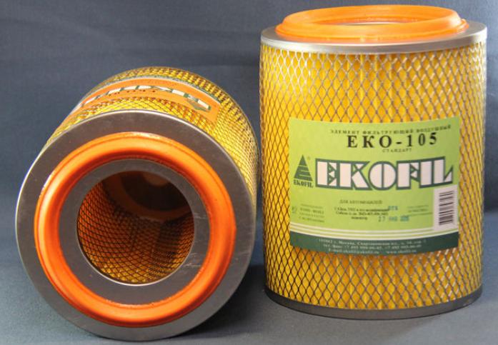 Фильтр воздушный EKO 105 Газель, Соболь (дв. 405,406,560) /инжектор/ низкий