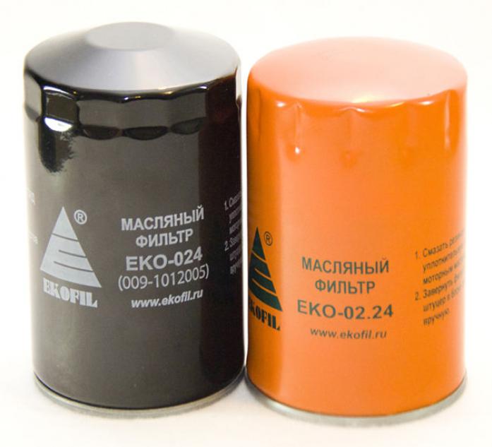 Фильтр масляный EKO 024 ЗИЛ-Бычок Маз 4370-40 Двигатель 245 (ПАЗ, Валдай)