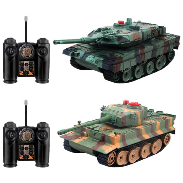 Танк на радиоуправлении 1toy Взвод - Leopard 2A5 vs Tiger I Т57526