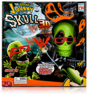 Бластер Johnny the Skull Тир проекционный 3D Джонни-Черепок 3053