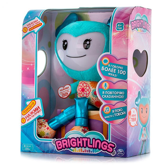 Игрушка интерактивная Brightlings музыкальная голубая 52300-b