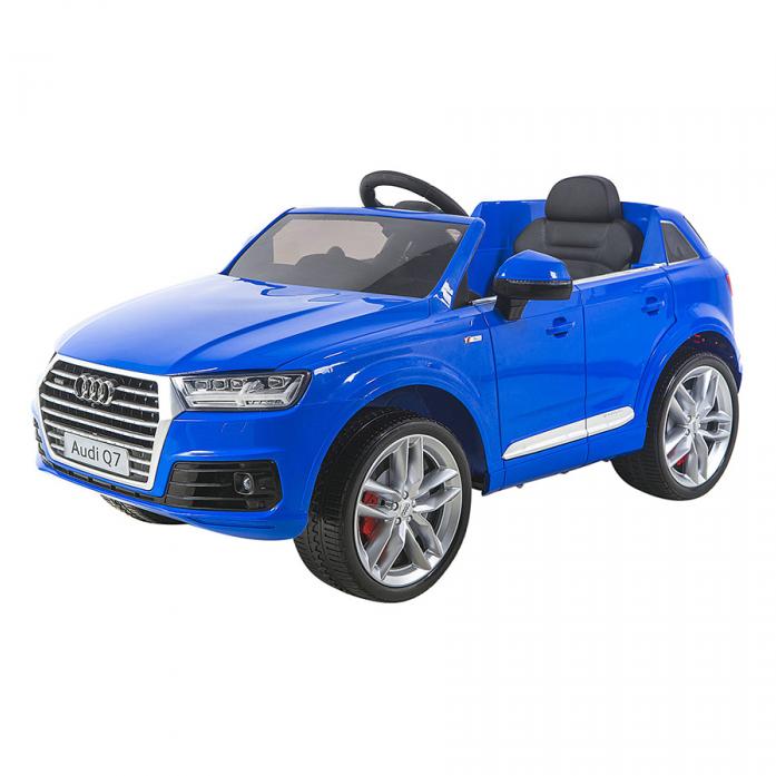 Электромобиль Shine Ring Audi Q7 12V/10Ah Синий (покраска) SR159
