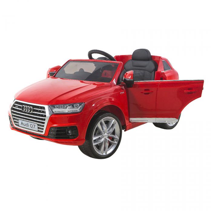Электромобиль Shine Ring Audi Q7 12V/10Ah Красный (покраска) SR159