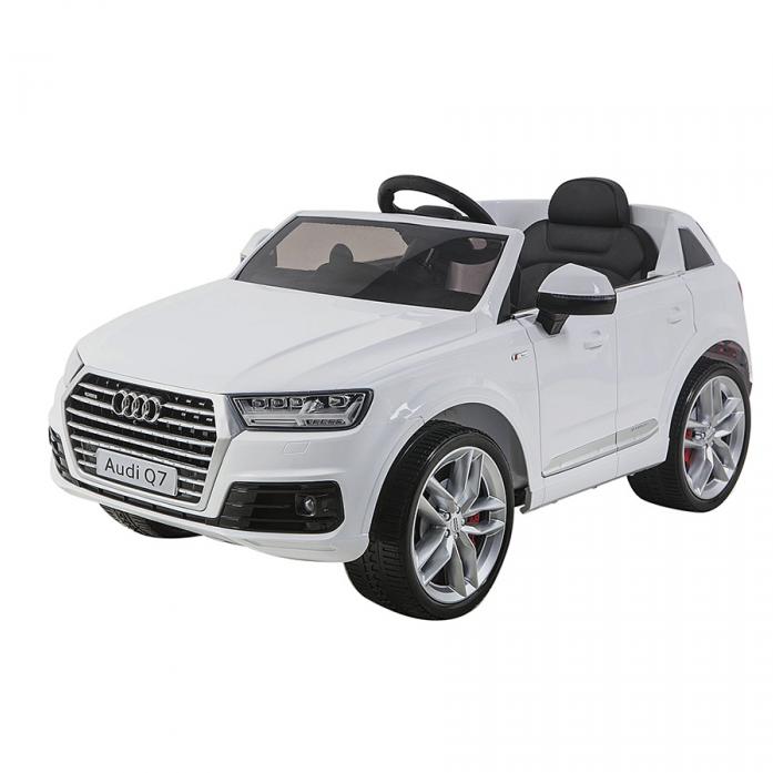 Электромобиль Shine Ring Audi Q7 12V/10Ah Белый SR159