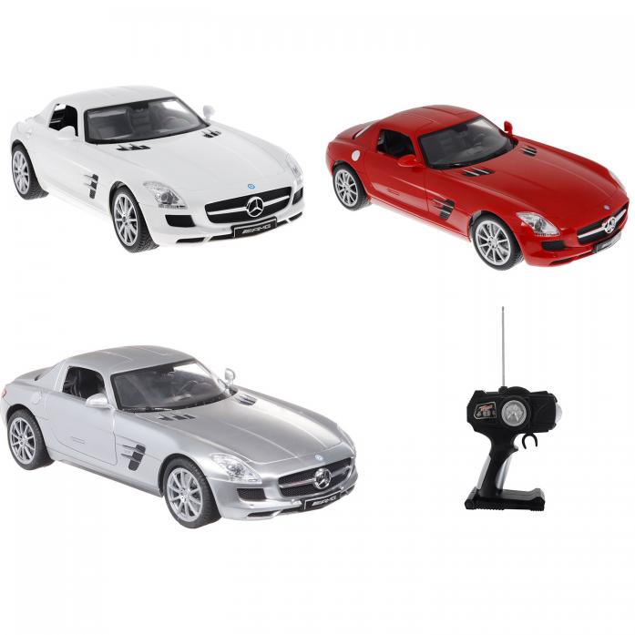 Машинка на радиоуправлении Top Gear Mercedes Benz SLS 1: 14 Т56691