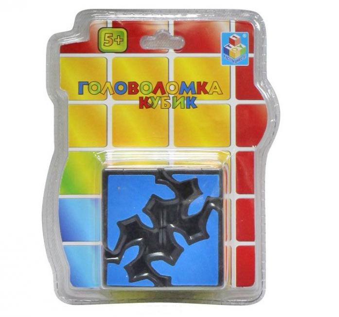Игрушка 1toy Головоломка кубик 3D Т57365