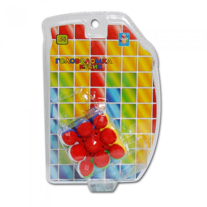 Игрушка 1toy Головоломка кубик 3D Т57366