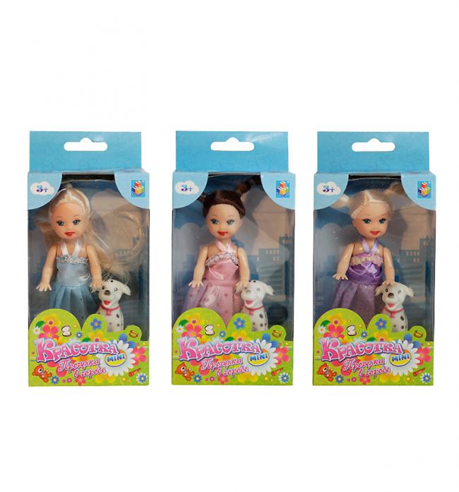 Кукла 1Toy Красотка набор мебели с куклой, туалетный столик Т54490