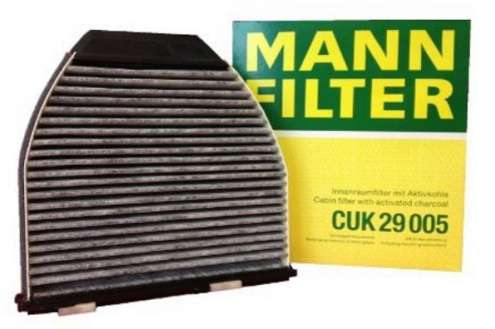 Фильтр салонный MANN CUK 29 005 Mercedes W204/W212