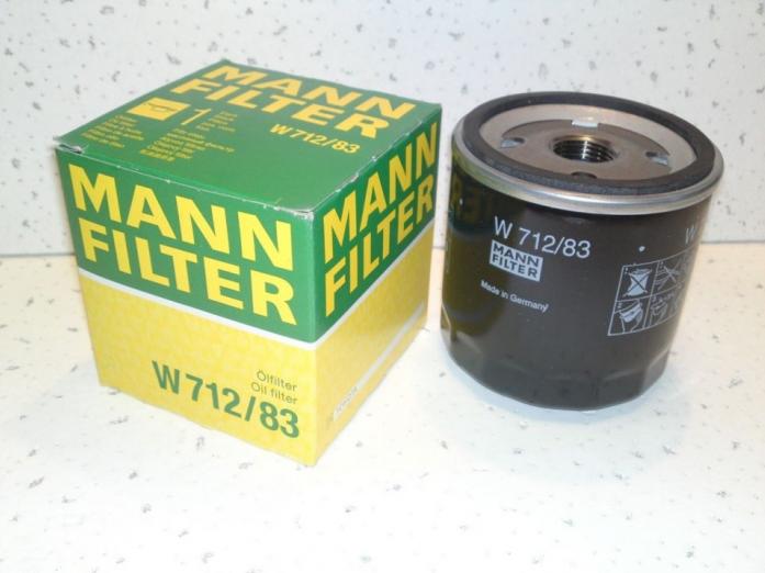 Фильтр масляный MANN W 712/83 Toyota Land Cruiser All