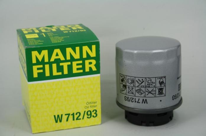 Фильтр масляный MANN W 712/93