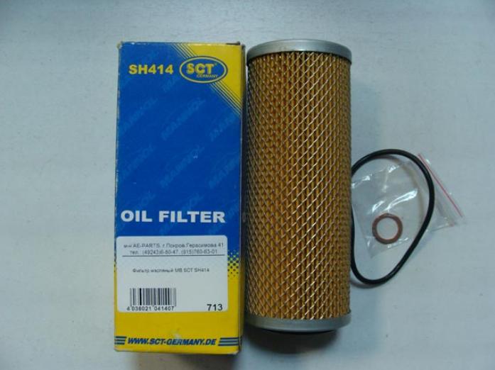 Фильтрующий элемент масляного фильтра SCT SH-414