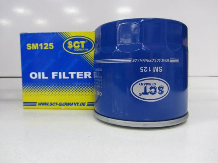 Фильтр масляный SCT SM-125