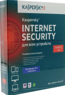 Программное обеспечение KASPERSKY KL1941RBEFS Internet Security Multi-Device Russian Edition. 5-Device 1 year Base Box
