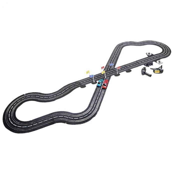 Автотрек генераторный Play Smart Параллельные гонки с 2 машинками 505см Р40949