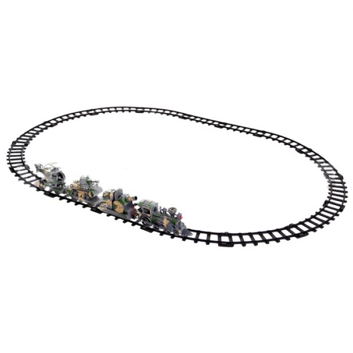 Железная дорога Play Smart Мой первый поезд - Бронепоезд Р40543