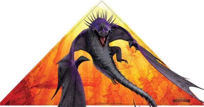 """Воздушный змей От Винта! """"Как приручить дракона 2"""", 140*72см 68667"""