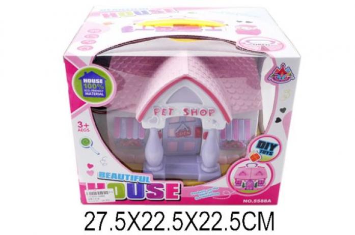 Домик для куклы Shantou Gepai с аксессуарами 5588A