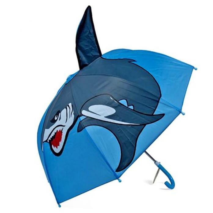 Зонт Mary Poppins детский Акула, 46 см 53520