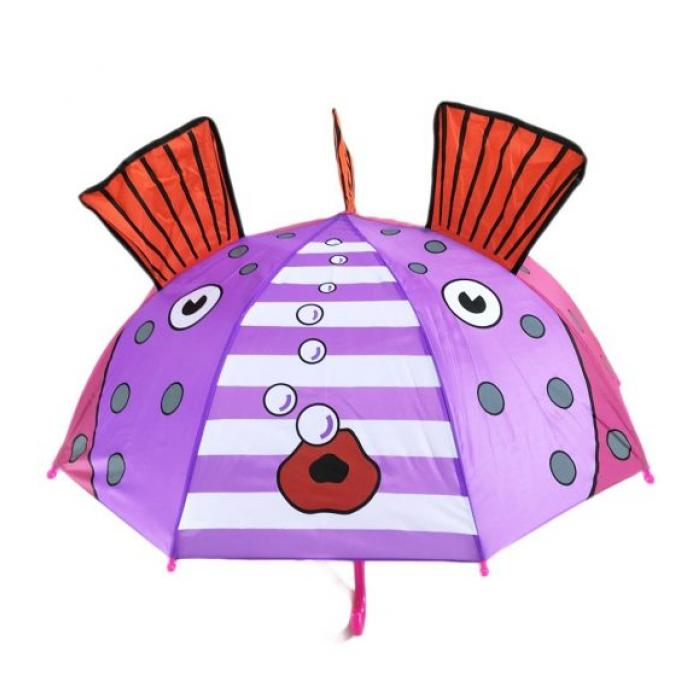 Зонт Mary Poppins детский Золотая рыбка 46см. 53586