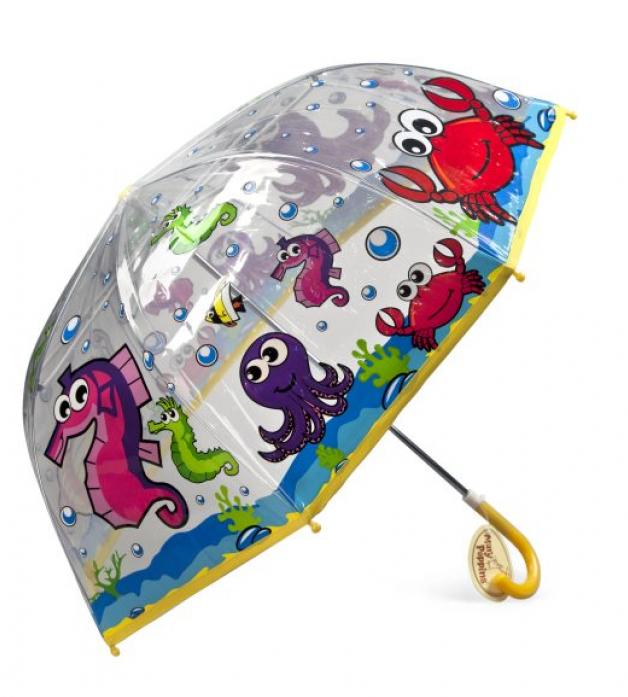 Зонт Mary Poppins детский Подводный мир, 46 см 53519