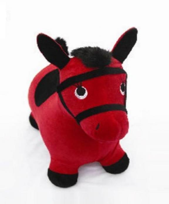 Лошадка-попрыгунчик Shantou Gepai Наша игрушка, красн. 63799