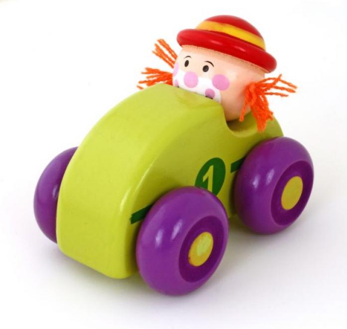 Машинка Mapacha Клоун зел. 76538