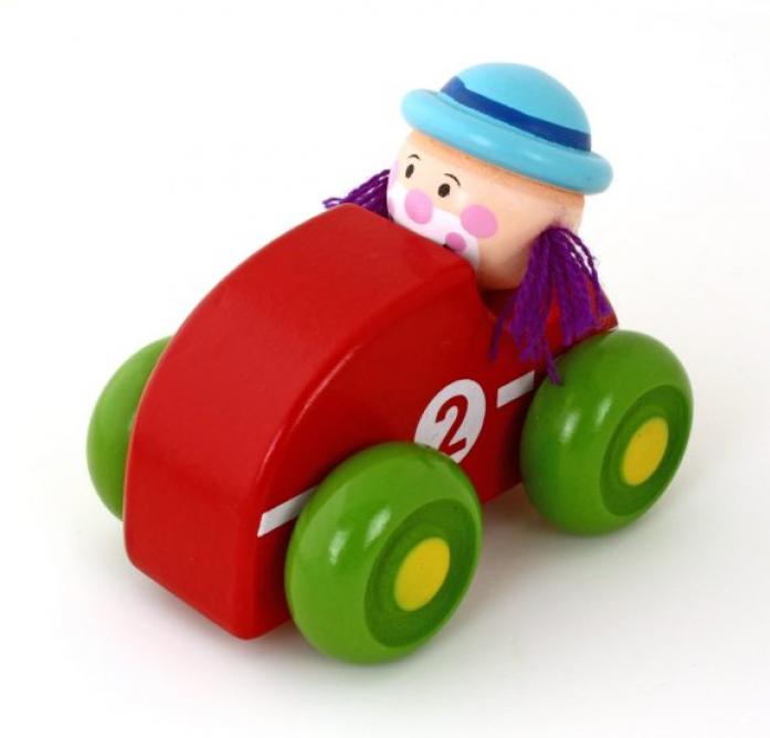 Машинка Mapacha Клоун красн. 76539
