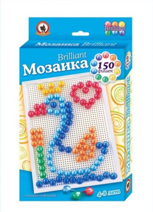 Мозаика Русский Стиль Brilliant Царевна Лебедь150 эл D 15 мм 03971.